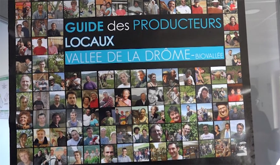 Frantziako Val De Drôme Biovallé bisita